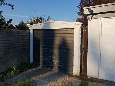 concrete sectional garage used - FREE