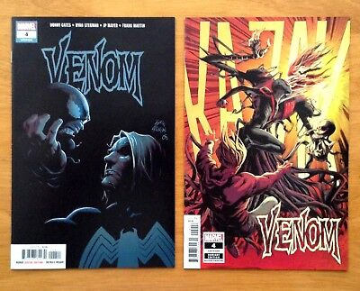 Venom 4 Covers A 1st & 2nd Prints Donny Cates ~ Ryan Stegman Marvel 2018 NM+