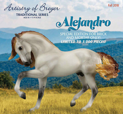 PRE-ORDER New Breyer Alejandro 2018 Limited Edition Traditional Model Horse