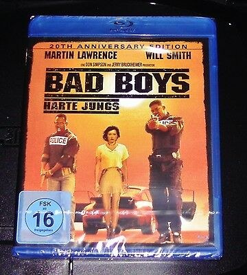 Bad Boys Harte Jungs Mit Will Smith 20Th Anniversary Edition Blu Ray Neu & Ovp
