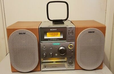 Sony Mini Hifi System, CMT-CP101, CD Player