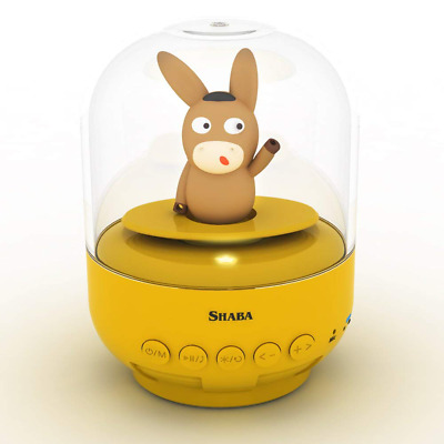 Mini Bell Jar Speaker for Kids Cute Animal Pet Wireless Bluetooth Musical w/ Mic
