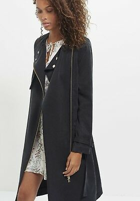 Manteau 36 00 75 Taille Ikks Imper Picclick Trench Eur Fr Neuf wIdPwqB