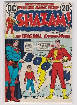 Shazam! #1 & 2 (Feb April 1973, DC)