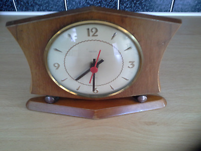 Vintage SMITHS SECTRIC CLOCK UNUSUAL DESIGN