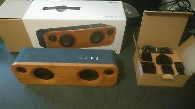 Marley Get Together Mini Bluetooth Speaker boxed with all original extras