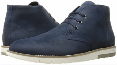 d0e11d188d1 WOLVERINE 1883 BY Men's Gibson Chukka Boot - Navy Suede, 12M ...