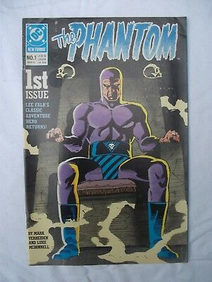 DC Comic The Phantom #1 March 1989