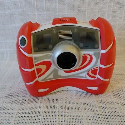 Fisher Price Kid Tough Digital Camera 2010 Red and White