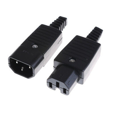 250V 10A Power Connector IEC 320 C14 Plug to C13 Socket TH