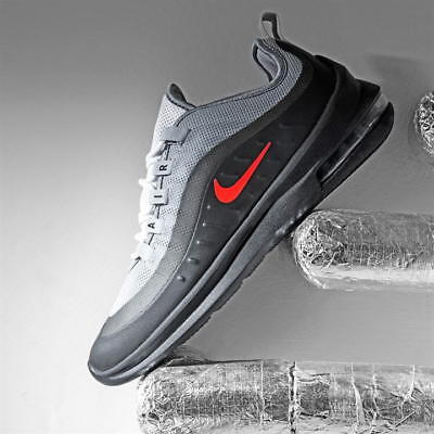 NIKE AIR MAX Axis Trainers Mens Grey Red Black - £89.95  1485f3c1876