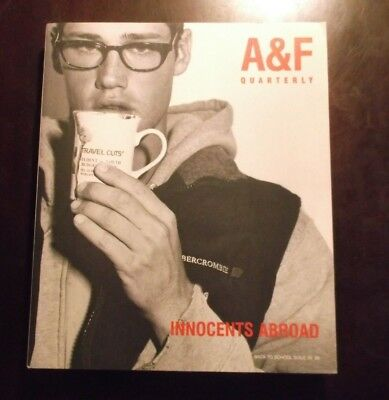 Abercrombie & Fitch Quarterly Catalog Back To School 1999 Innocents Abroad New