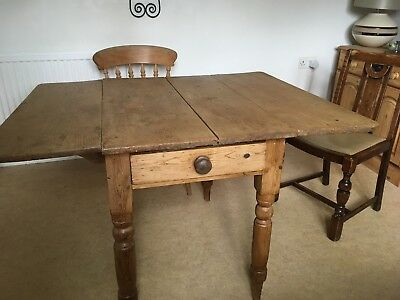 Victorian Old Pine Table