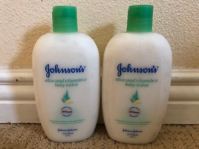 Johnson's Baby Oil Creamy Aloe & Vitamin E 8 fl oz