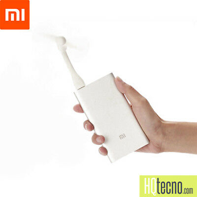 Xiaomi Ventola Usb Ventilatore Mini Portatile Flessibile per MacBook, Powerbank