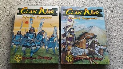 Legend of the Five Rings Clan War Infantry/Cavalry Expansions