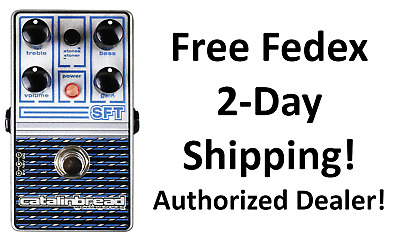 New Catalinbread Catalinbread SFT Ampeg Amp Emulation Overdrive Effects Pedal!