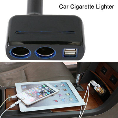 chargeur voiture allume cigare USB double port 2A universel iphone samsung Ipad