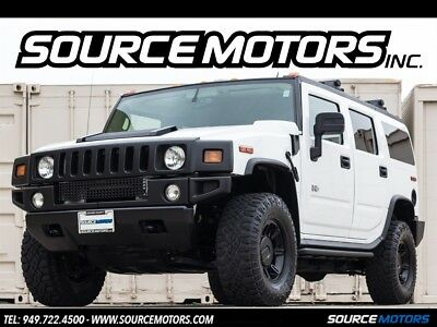 H2 4dr SUV 2006 Hummer H2 Luxury, Leather, Blacked Out,  Roof rails, DVD's, One Owner
