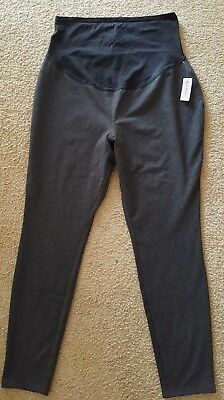 Old Navy Women's NEW Maternity Gray Full Panel Compression Pants XL # O-19