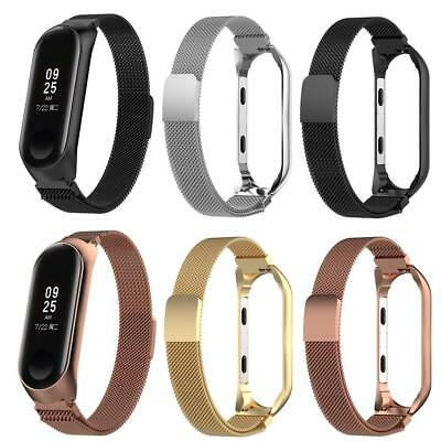 For Xiaomi Mi Band 3 Wristband Milanese Stainless Steel Luxury Strap Bracelet UK