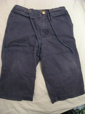 Mini Boden navy boys trousers 12-18 months
