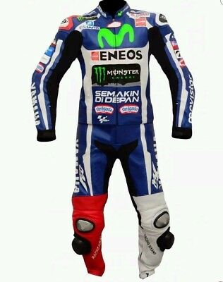 Yamaha Motorbike Racing Leather Suit for motorcycle ride CE Approved