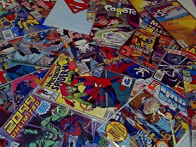 Comic Book Lot Of 12 Assorted Dc, Marvel, Epic Etc.. $8.49 Shipped! Wow 71¢ Ea!