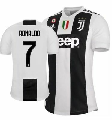 Ronaldo Juventus Men Home Jersey