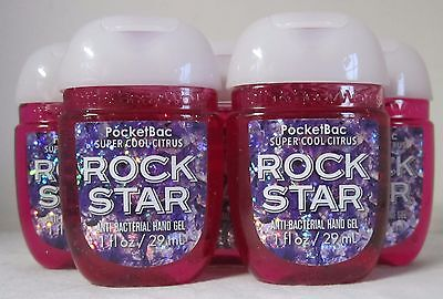 Baño & y Cuerpo Work Anti Gel de Manos Lote Set 5 Super, Cítrico Estrella Rock