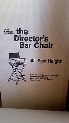 """Gold Medal 30"""" Director's Chair"""