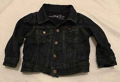 Baby Gap 18-24 Months Jean Jacket Dark Denim