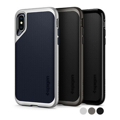For iPhone XS,XS Max,XR Spigen® [Neo Hybrid] Dual Layered Shockproof Case Cover