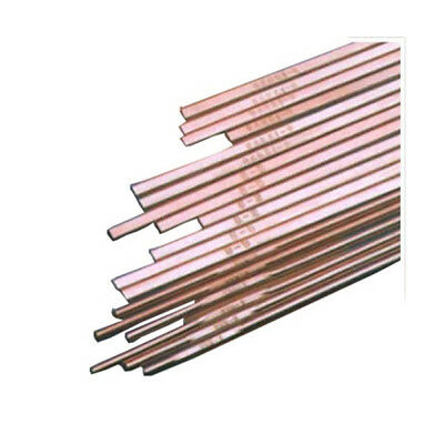"Weldcote ""2"" .050 x 1/8 x 20"" 1 lbs Tube Phos-Copper Silver 2"