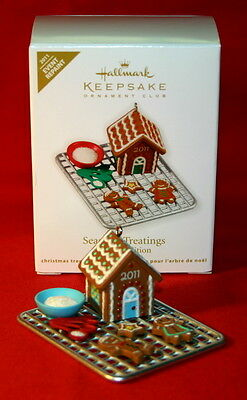 Hallmark Ornament 2011 Season's Treatings Repaint/colorway Event Special Edition