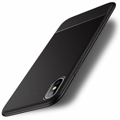 Luxury Shockproof Carbon Fiber Silm Silicone Case Cover For iPhone Xs Max XR