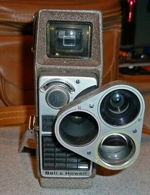 Bell & Howell Perpetua Electric Eye Movie Cam Used Good Condition AS-IS Untested