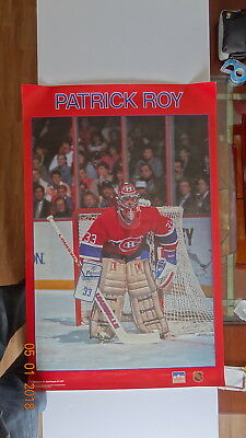 Patrick Roy MONTREAL CANADIENS  Huge Giant Print POSTER