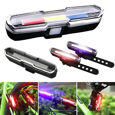 Bike LED Light USB Rechargeable Bicycle Mountain Bike Rear Tail Light Headlight