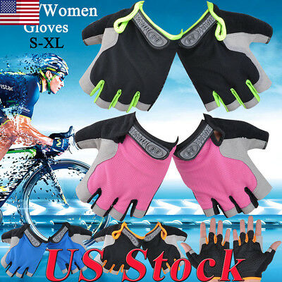 Non-Slip Half-Finger Gloves Mountaineering Bicycle Riding Fingerless Gel Gloves