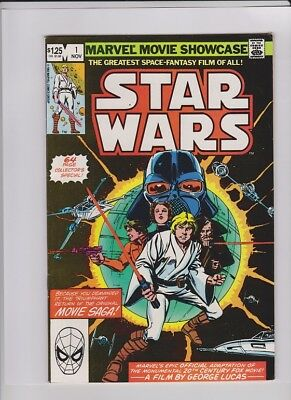 MARVEL MOVIE SHOWCASE STAR WARS #1 VF+, reprints of Star Wars #1,2 & 3, low cost