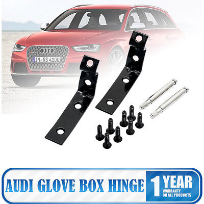 Glove Box Hinge Brackets Repair Tool Kit For Audi A4 B6 B7 (8E) 2001-2008
