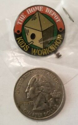 Collectible Pin: Home Depot Kids Workshop Birdhouse