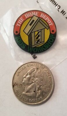 Collectible Pin: Home Depot Kids Workshop Bird Small Animal Feeder