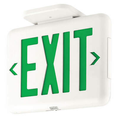 HUBBELL LIGHTING - DUAL-LITE Exit Sign,LED, EVEUGWEI
