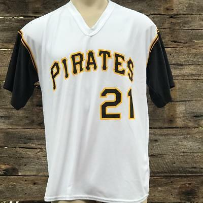 Pittsburgh Pirates Roberto Clemente #21 Jersey Adult Size XL