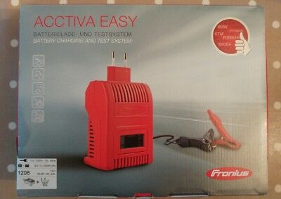 Fronius Acctiva Easy 1206 Battery Charger 12V 6A with 2m Charging Lead 4.010.095