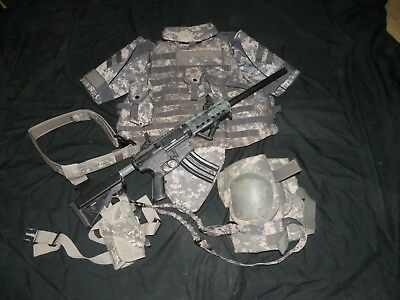 ACU Digital Camo Combat Plate Carrier and more