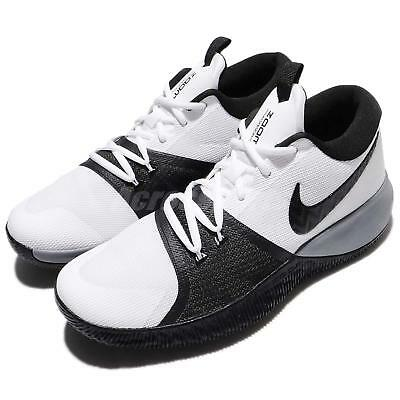 quality design 98d25 fc949 Nike Zoom Assersion EP White Black Grey Men Basketball Shoes Sneakers  917506-100