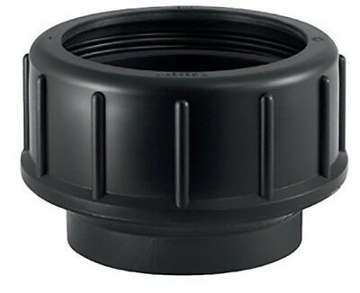 4x Geberit HDPE END CONNECTOR Black - 40mm Or 56mm